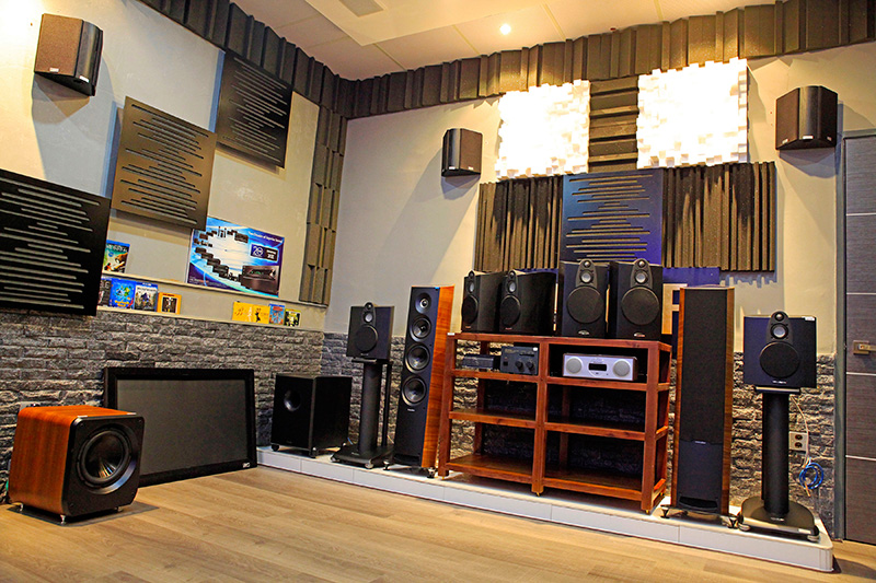 Home Theater Showroom